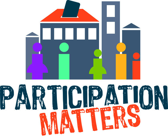 participation matters civic logo eighth generation civic logo vector